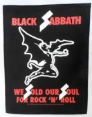 Black Sabbath - 'We Sold Our Soul' Giant Backpatch